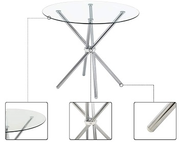 Best Of Best 4 Person Round Dining Table