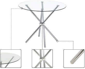 Best Of Best 4 Seater Round Table