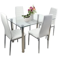 Best Of Best Glass Top Dining Table Set 4 Seater Rundown