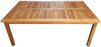 Best Outdoor 36 Inch Wide Rectangular Dining Table