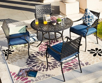 Best Outdoor Round Dining Table 4 Seater