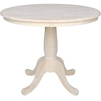 Best Pedestal 36 Inch Round Wood Table Rundown