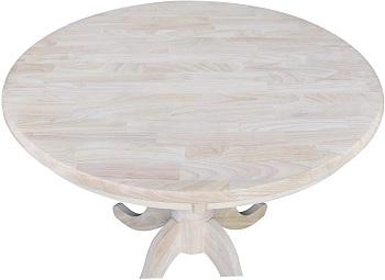 Best Pedestal 36 Inch Round Wood Table