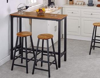 Best Rectangular 4 Seater High Top Table