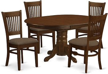 Best Round Solid Wood Dining Table Set 4 Seater