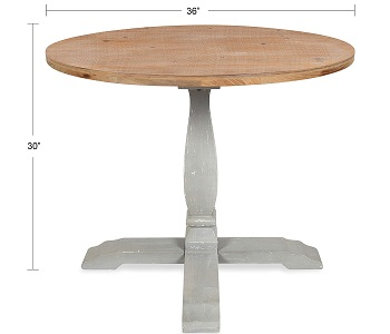 Best Rustic 36 Inch Round Wood Table
