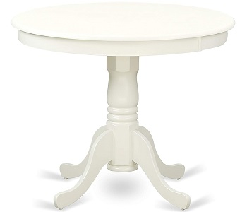 Best Set 36 Inch Round Wood Table