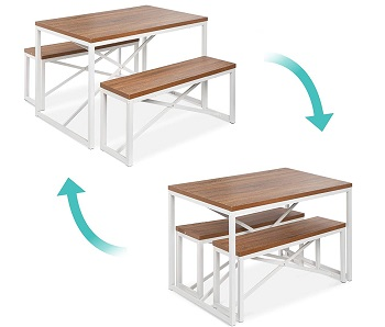 Best Set Modern 4 Seat Dining Table