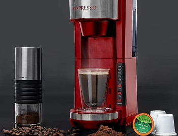 Best Single Cup Red 5 Cup Coffee Maker