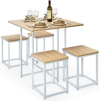 Best Small Square Dining Table Set For 4 Rundown