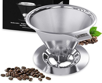 Best Stainless Steel Camping Coffee Dripper