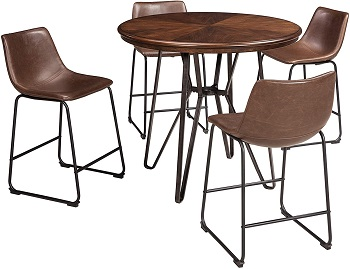 Best Wooden 36-Inch Round Counter Height Table