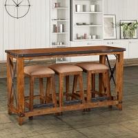 Best Wooden 4 Piece Bar Table Set Rundown