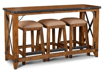 Best Wooden 4 Piece Bar Table Set