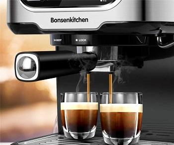 Bonsenkitchen Espresso Machine