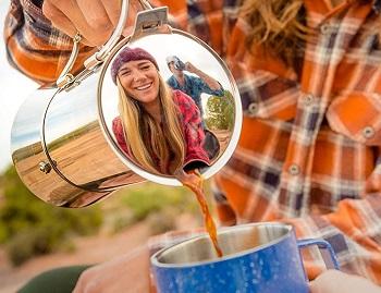 GSI Outdoors Stovetop Espresso Pot