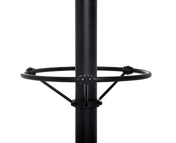 HOMCOM-Height-Adjustable-Pub-Table