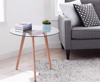 Ivinta Glass Dining-Coffee Table