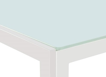 Joybase Tempered Glass Top Table
