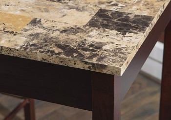 Linon Brown 3-Piece Table