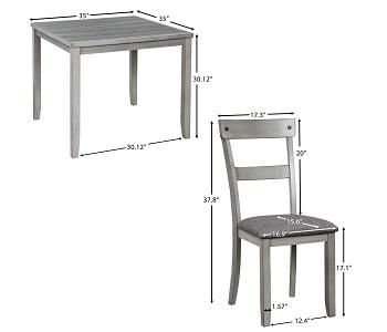 Merax Kitchen Table Set