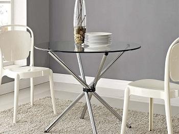 Modway Baton Modern Kitchen Table