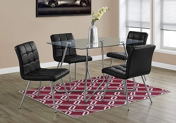 Monarch SpecialtiesTempered Glass Table