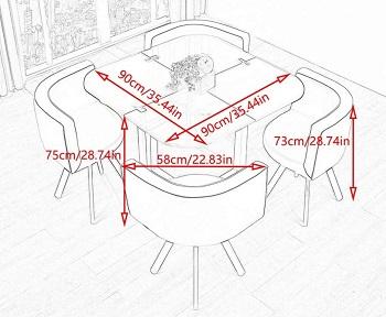 Myself-Table & Chair Furniture Set