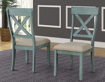 Roundhill Furniture Prato Table Set