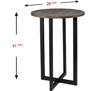 SEI Furniture Danby Bistro Table