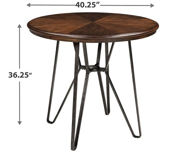 Signature Design Two-Tone Table