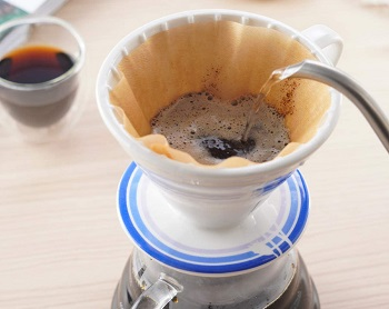 BLUE BREW Pour Over Coffee Dripper