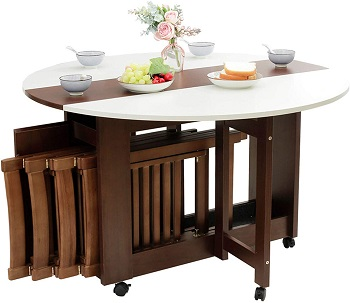 Best 48 Inch Dining Table With Leaf
