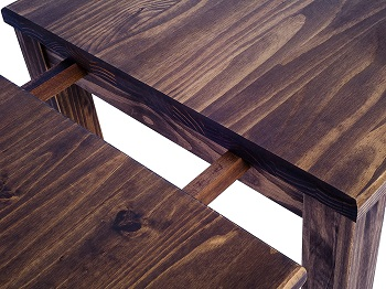 Best Antique 48 Inch Farmhouse Table