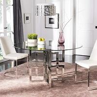 Best Modern 42 Inch Round Glass Dining Table Rundown