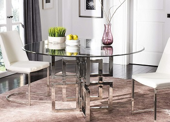 Best Modern 42 Inch Round Glass Dining Table