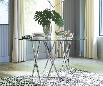 Best Modern 48 Inch Round Glass Dining Table