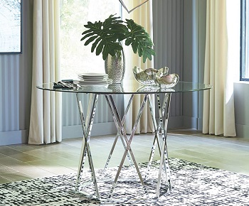 Best Modern 48 Round Pedestal Dining Table