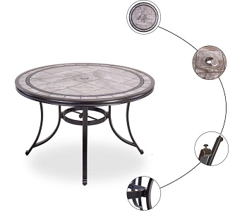 Best Of Best 46 Inch Round Dining Table