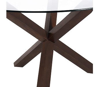 Best Of Best 48 Inch Round Glass Dining Table
