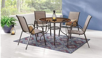 Best Outdoor 42 Inch Round Glass Dining Table
