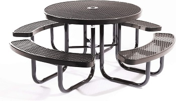Best Outdoor 46 Inch Round Dining Table