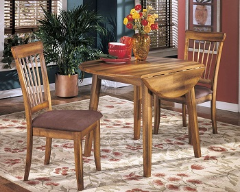 Best Rustic 42 Inch Round Extendable Dining Table