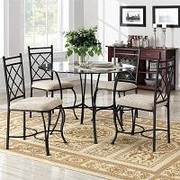 Best Set 42 Inch Round Glass Dining Table Rundown