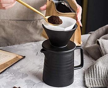 Best Set Ceramic Pour Over Coffee Maker