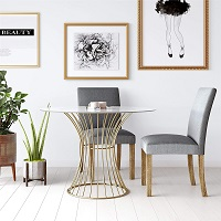 Best Tempered 42 Inch Round Glass Dining Table Rundown