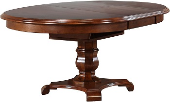 Best With Leaf 48 Inch Round Pedestal Table