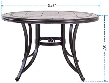 DALI Contemporary Dining Table