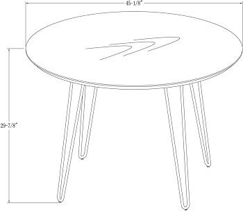 Harvey Hairpin Leg Dining Table