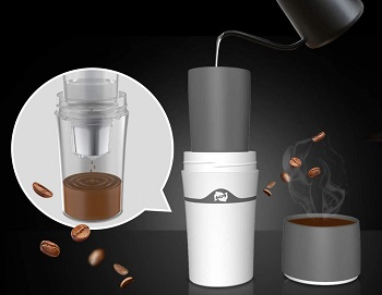 Homozy Portable Drip Coffee Maker